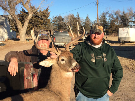 Trophy kansas whitetail deer hunts | Red Dog Outfitters